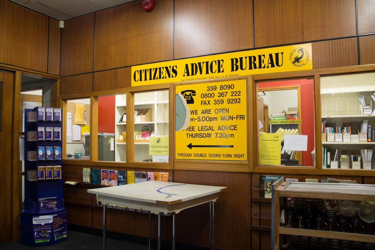 Citizens advice bureau old bishopdale library discoverywall nz