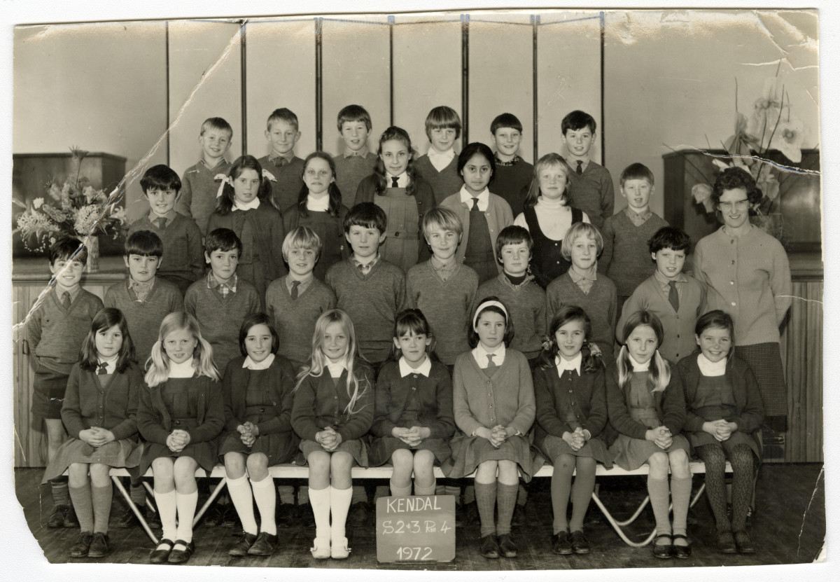 Kendal Primary School Class Photograph Discoverywall Nz