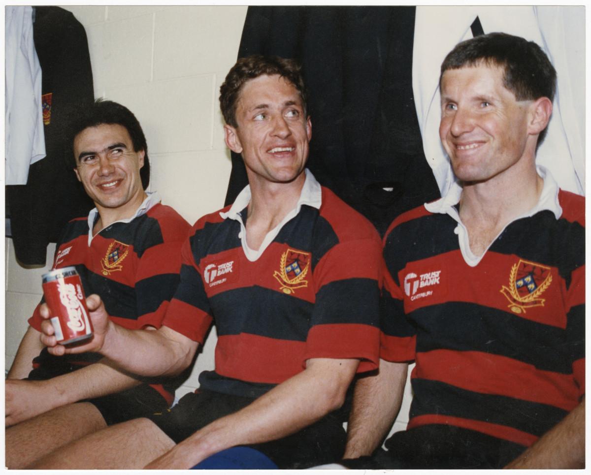 Canterbury rugby player Warwick Taylor | discoverywall nz