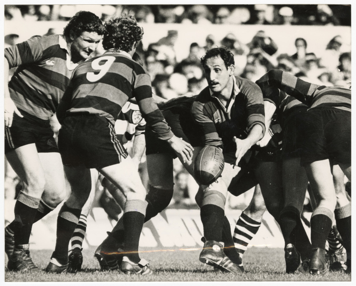 Canterbury rugby player Fergie McCormick | discoverywall nz