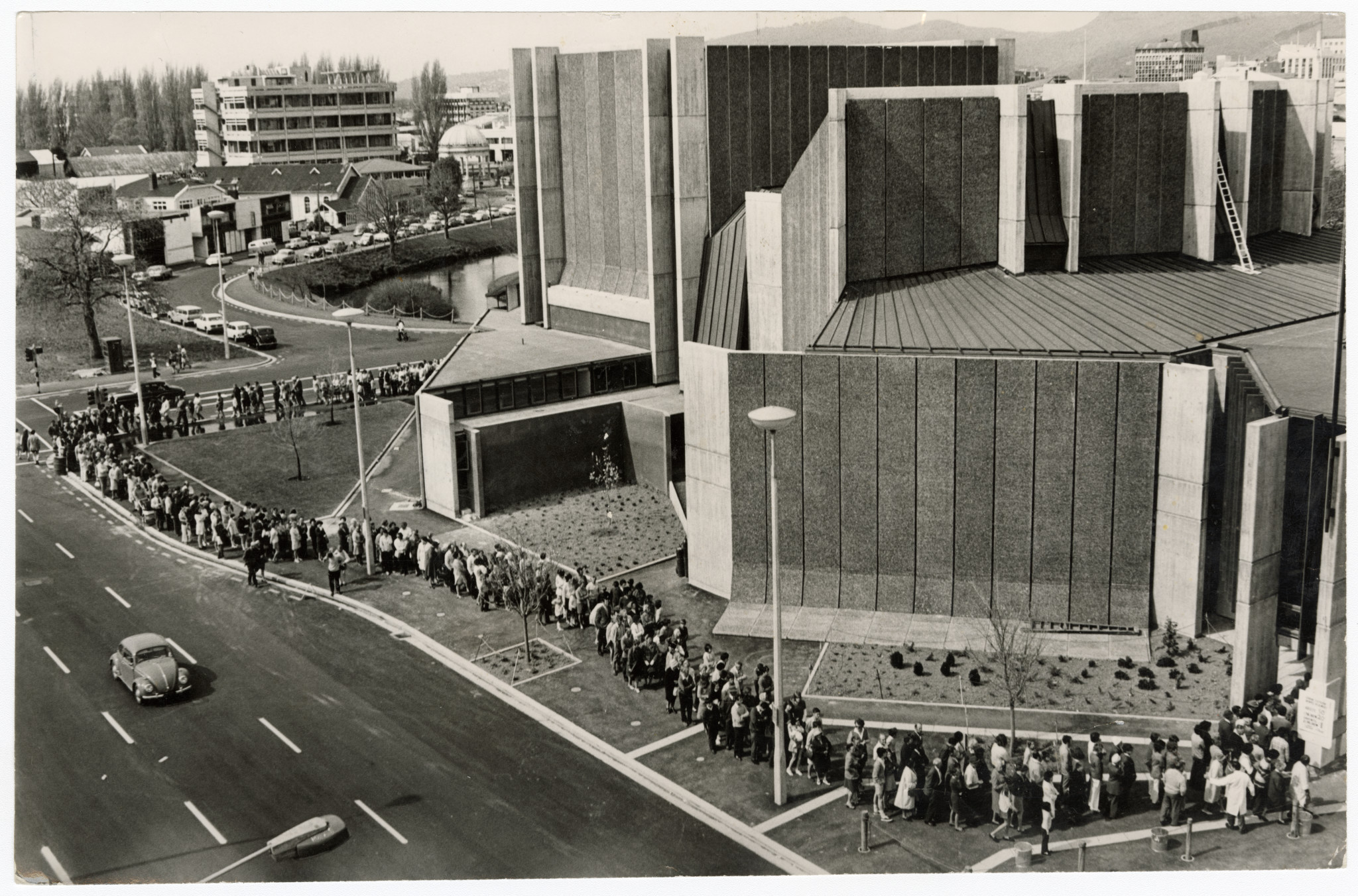 Opening of the new Town Halll. 25 September 1972. Christchurch Star archive. In copyright. CCL-StarP-02779A
